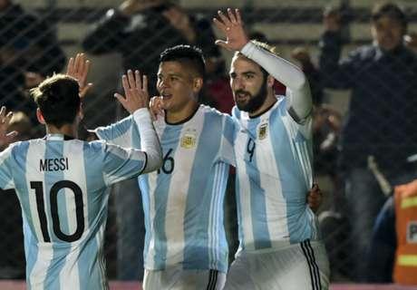 Argentina 1-0 Honduras: Higuain scores