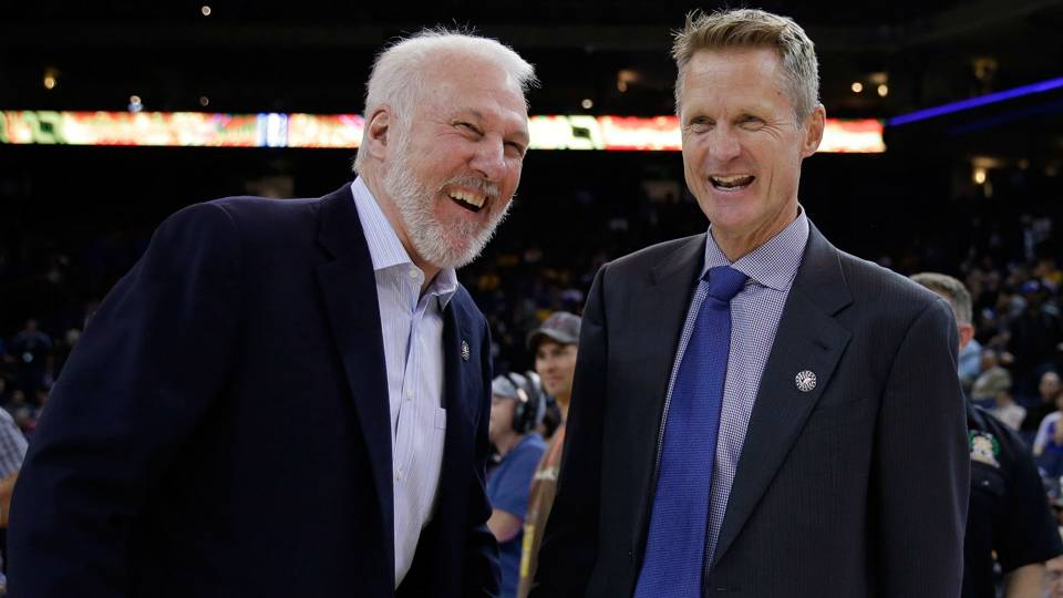 Gregg Popovich and Steve Kerr