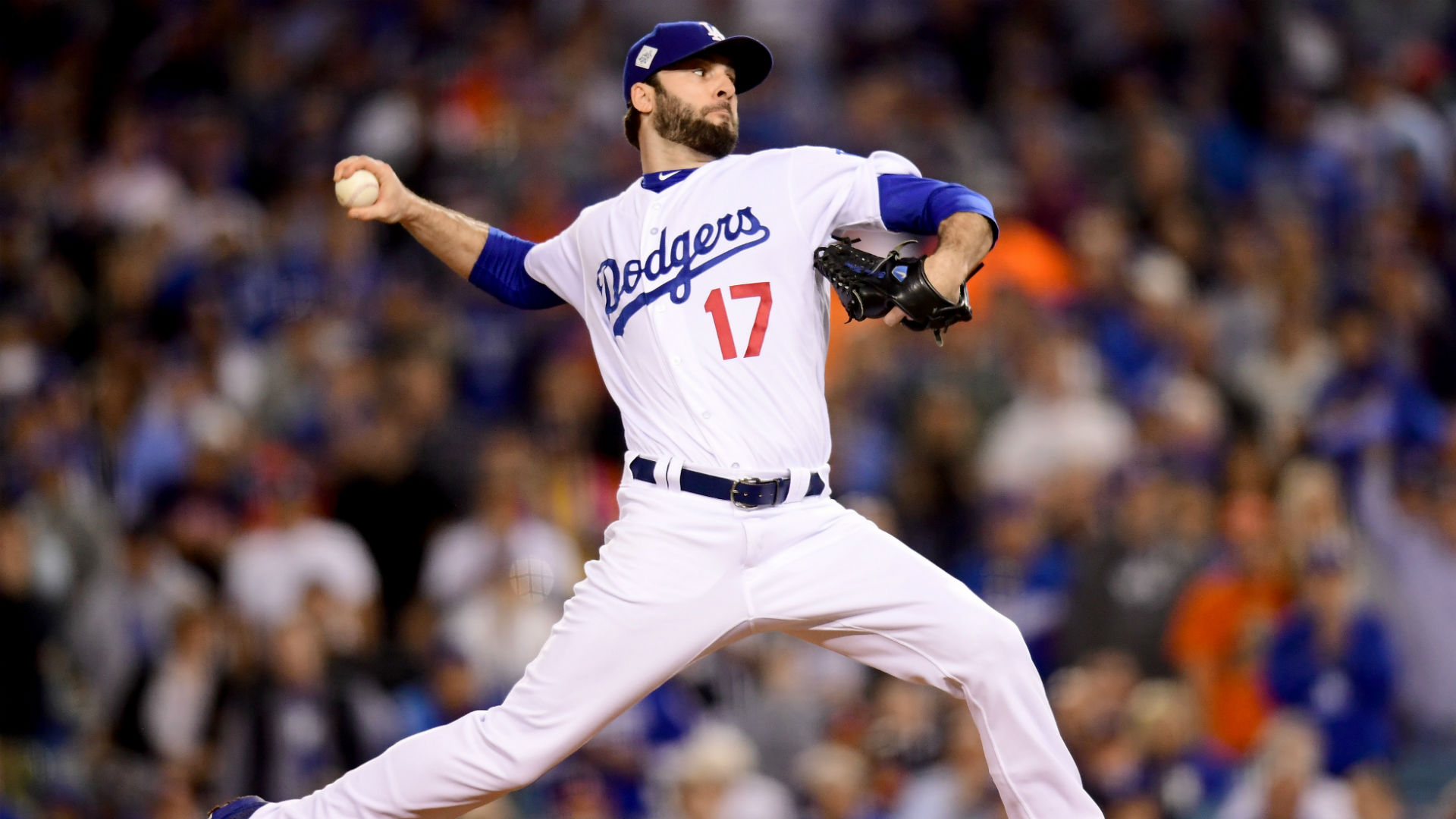 Cubs agree to terms with former Dodgers reliever Brandon Morrow