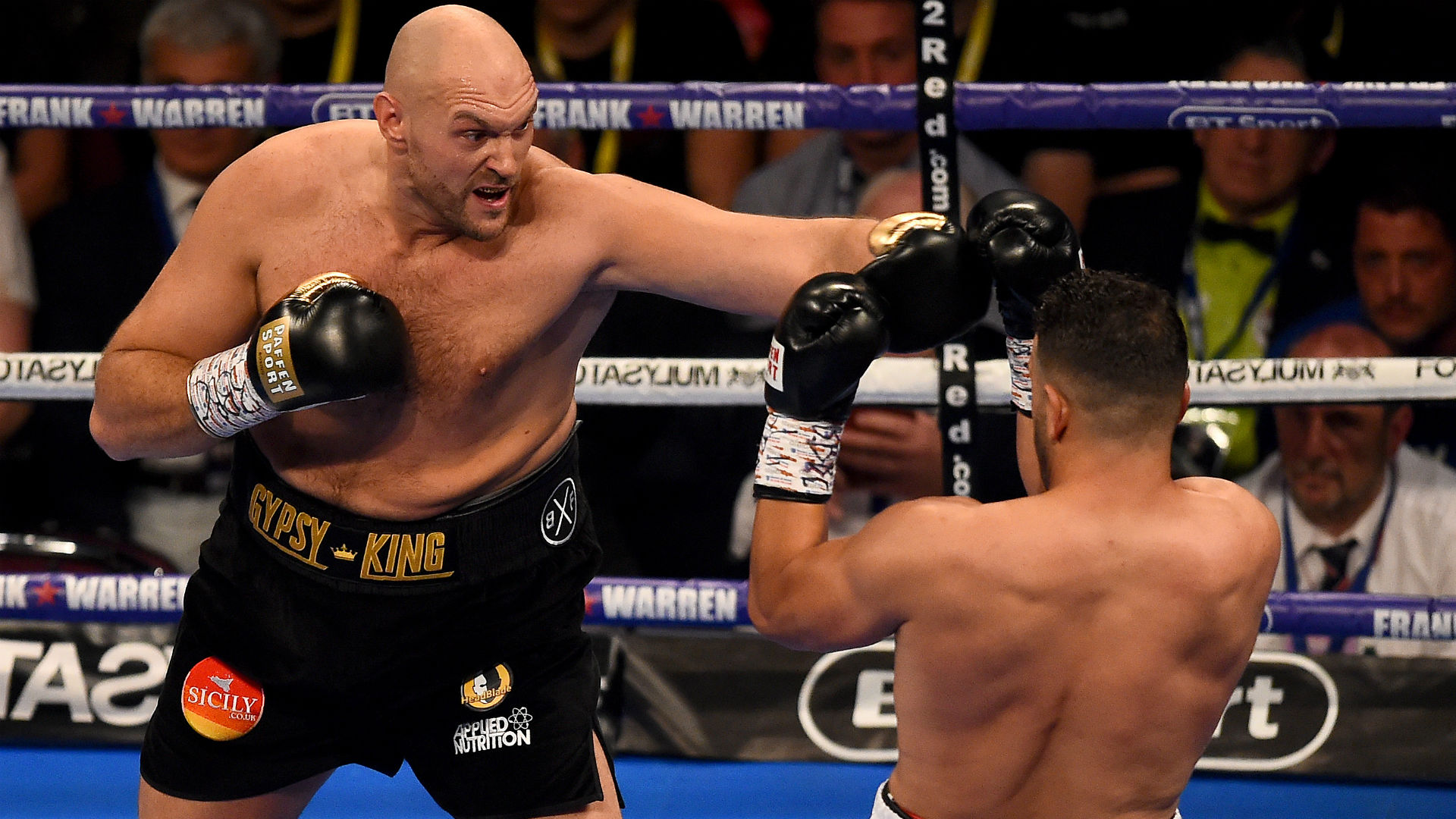 Tyson Fury eyeing title fight before end of 2018