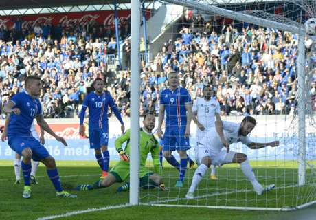 Victory for Iceland, Poland draw