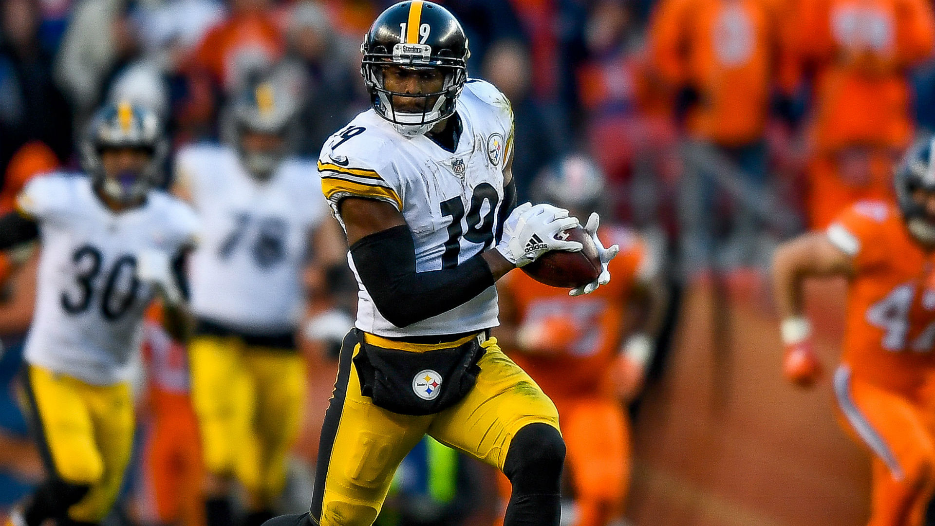 Steelers WR JuJu Smith-Schuster welcomes attention Antonio Brown receives from opponents