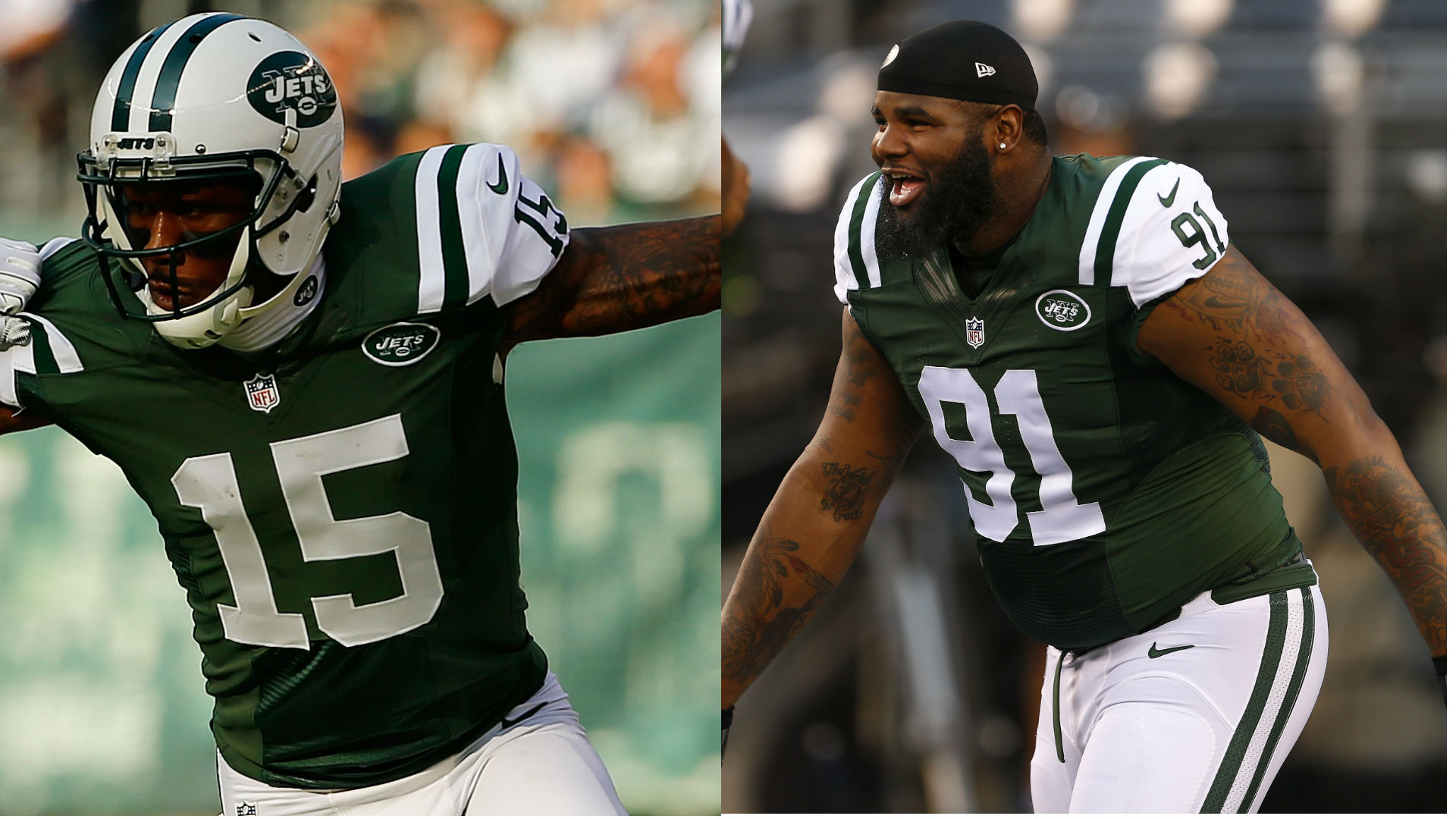 Sheldon Richardson finds creative way to criticize former teammate Brandon Marshall
