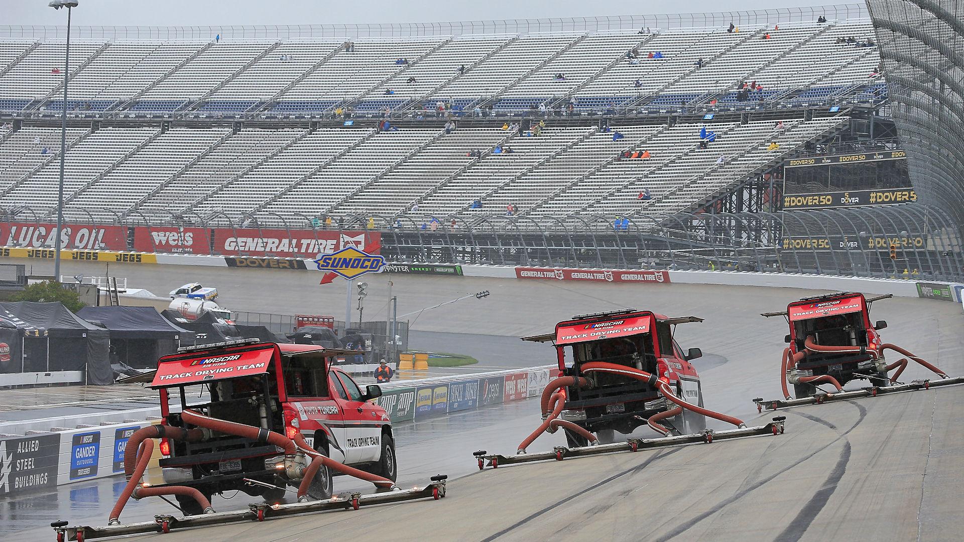 NASCAR at Dover: Rain postpones race to Monday