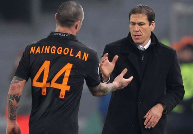 Garcia hails 'incredible' Nainggolan outing