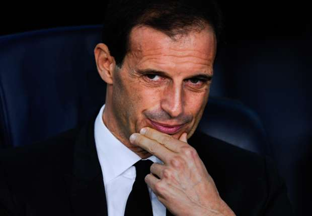 Where will Juventus finish in Serie A under Allegri?