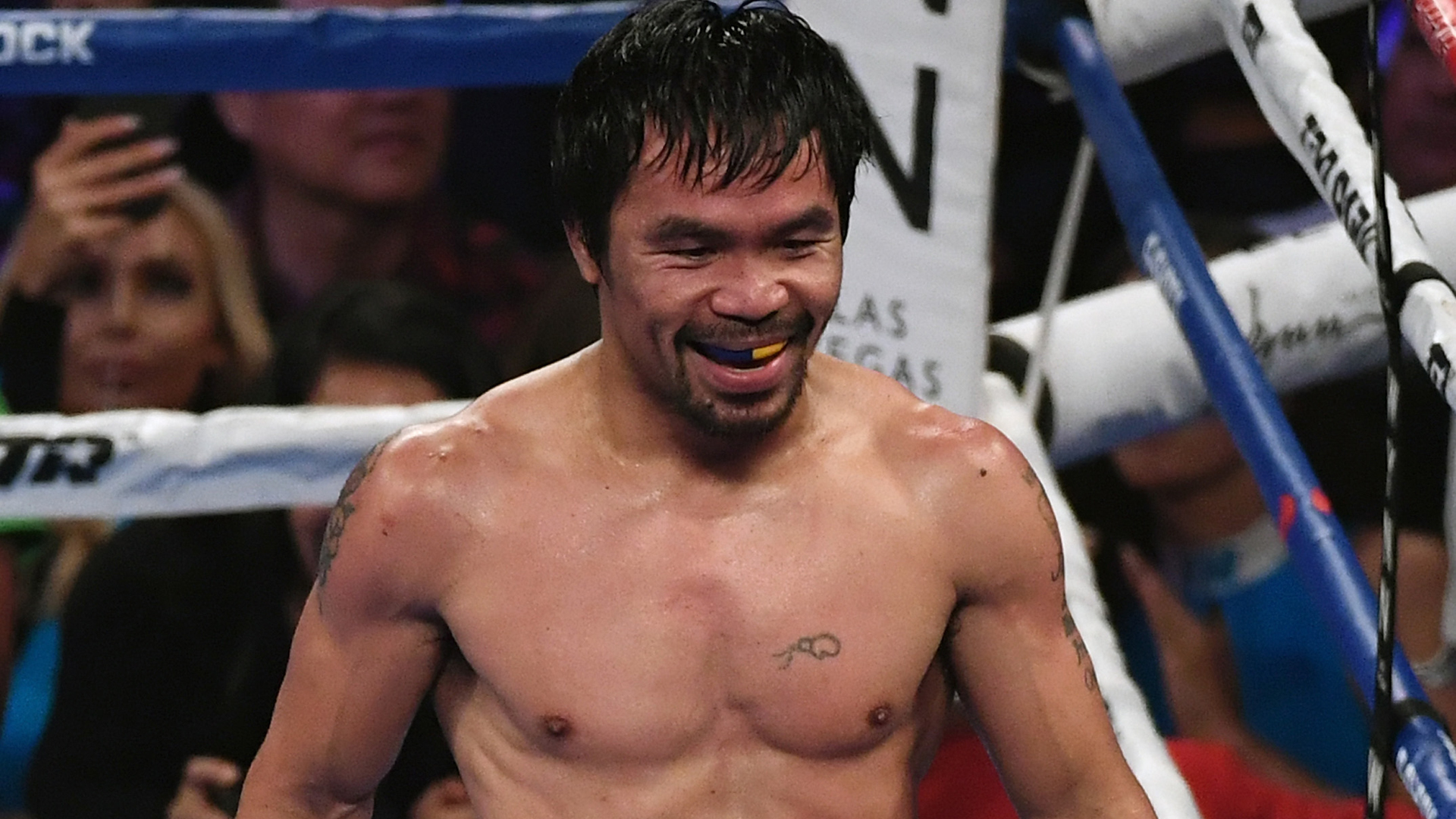 Pacquiao Won't Retire Until Floyd Rematch