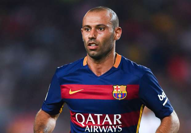 Mascherano left out of Barcelona squad