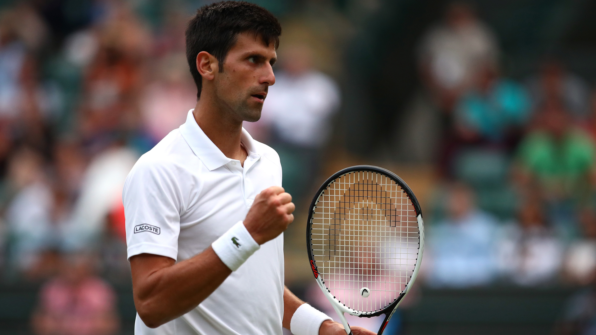 Wimbledon  Novak Djokovic Upbeat After Cruising Into Quarter Finals Tennis Sporting News