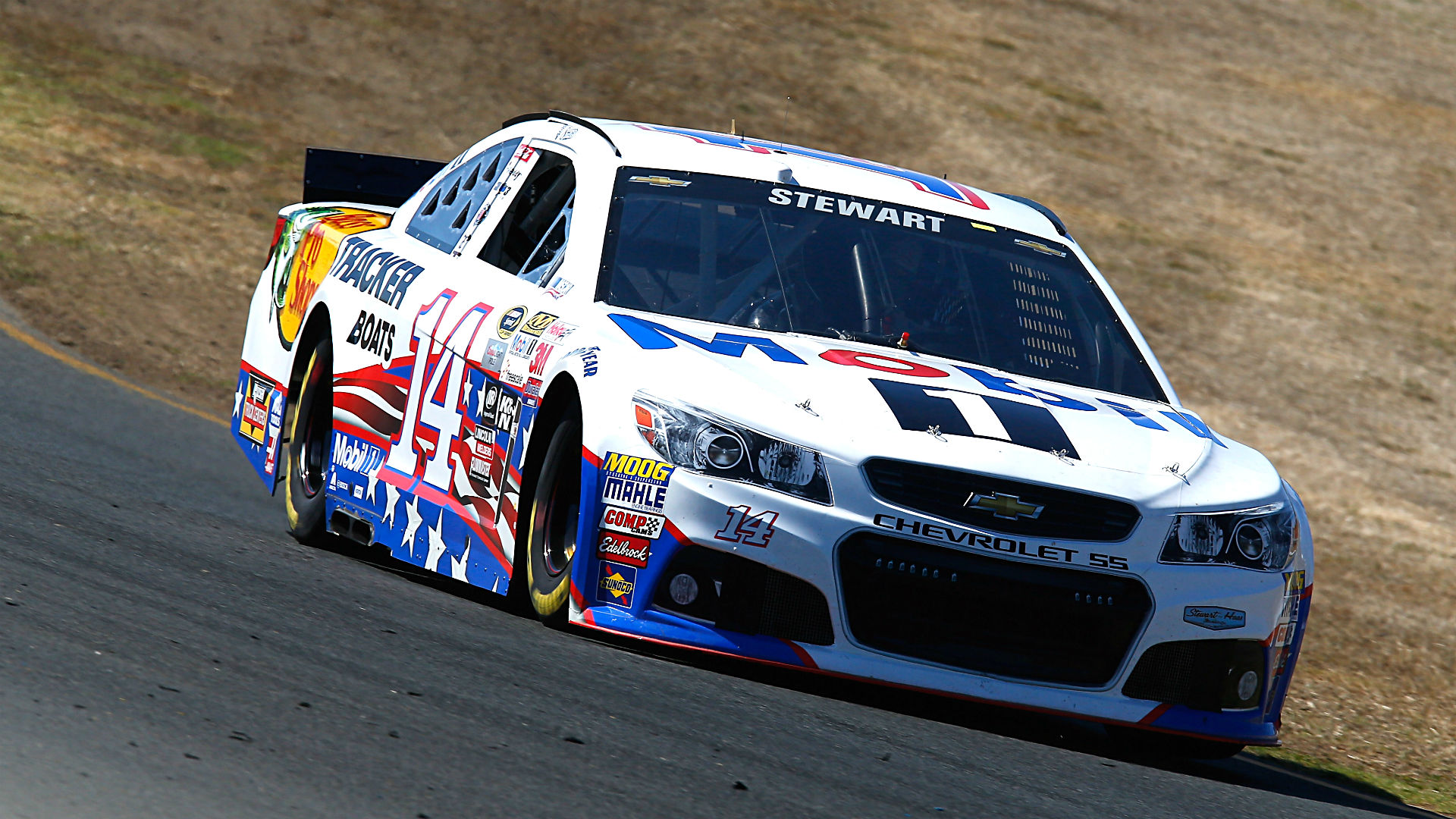 Tony Stewart's tirade among bizarre in-car audio highlights from Sonoma