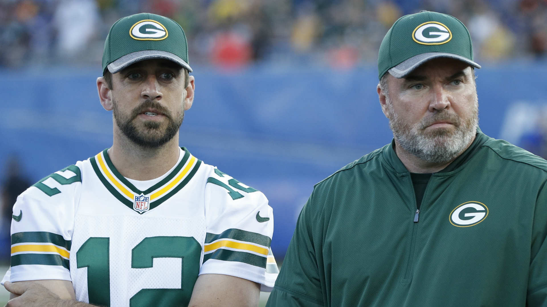 Mike McCarthy-Aaron Rodgers tension puts pressure on Packers coach, report says
