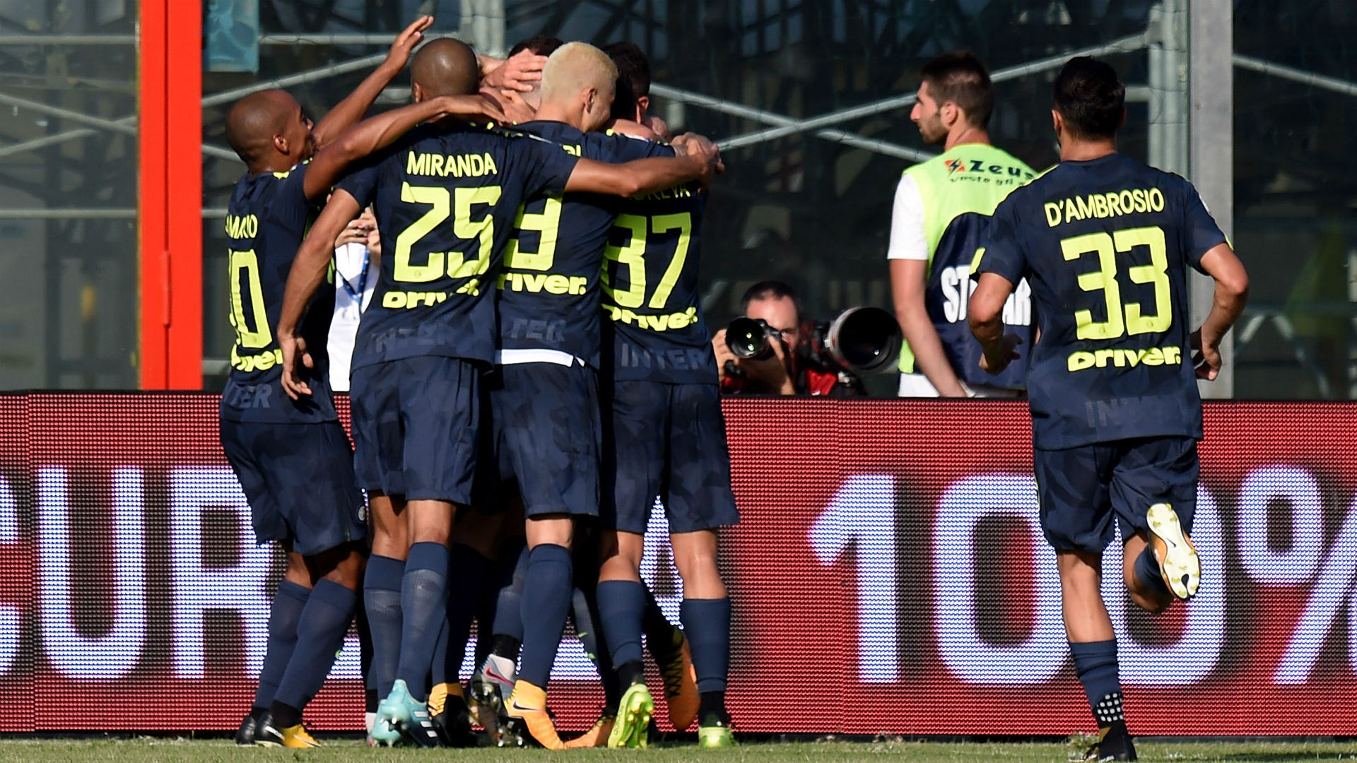Inter Milan stay flawless in Serie A