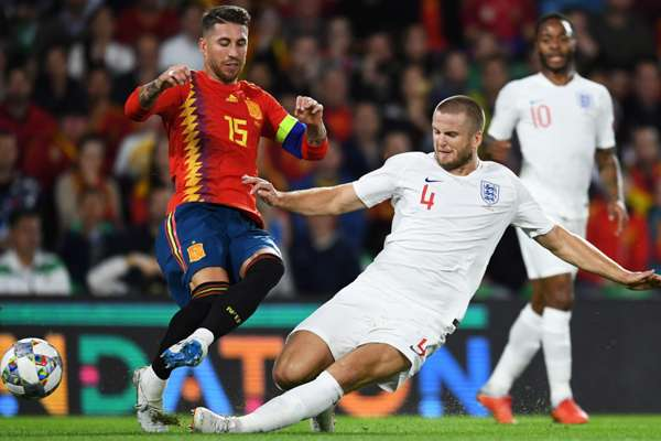 Pochettino 'proud' of Dier for Ramos tackle