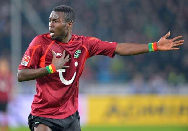 Mame Diouf soll auch weiter für Hannover 96 treffen, wenn es nach Trainer Tayfun Korkut geht