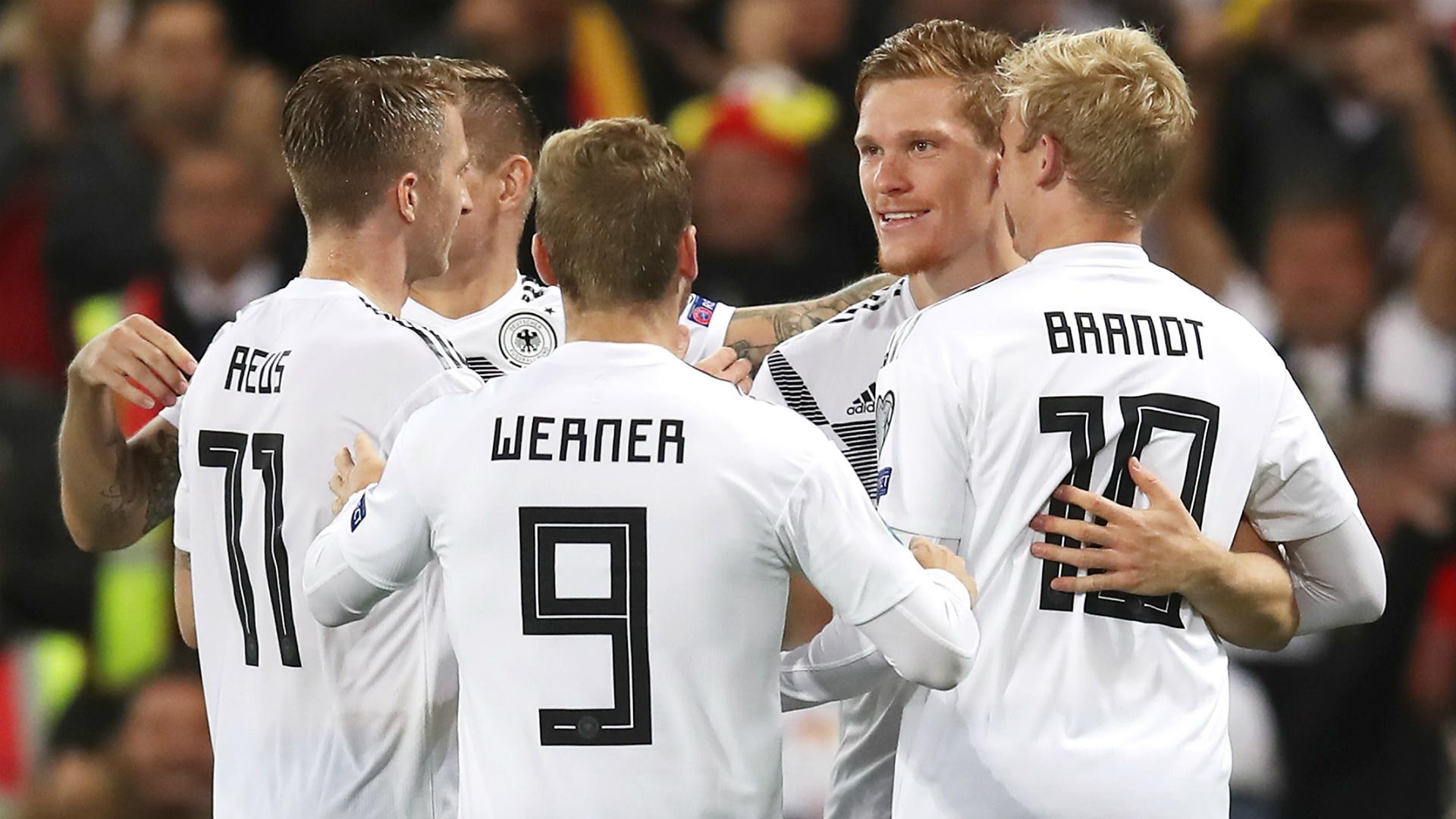 Northern Ireland 0-2 Germany: Halstenberg stunner breaks Windsor Park resistance