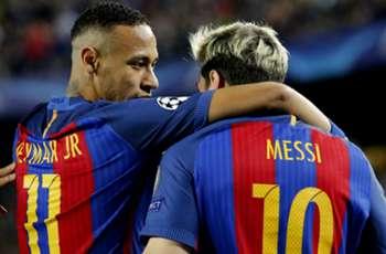 Neymar's father: Messi is my son's idol