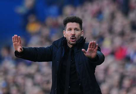 Simeone focused on Champions League