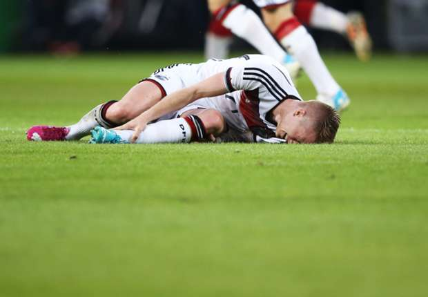Reus ruled out of Germany's World Cup campaign