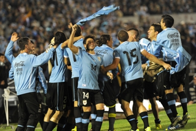 FIFA World Cup Play-Off: Uruguay 0 Jordan 0 (agg 5-0)