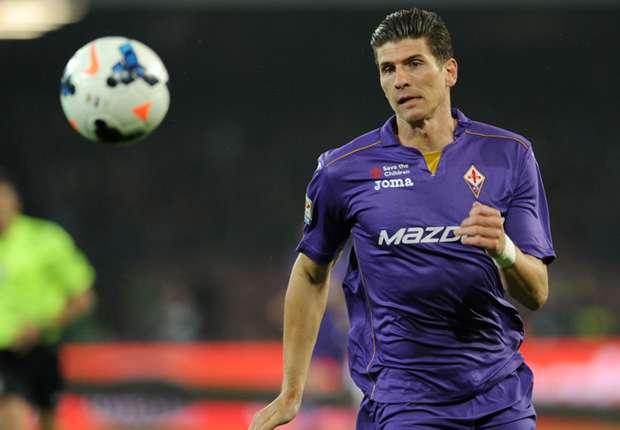 Mario Gomez will schon bald wieder für den AC Florenz spielen