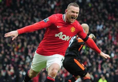 Ronaldo, Rooney in China's top five