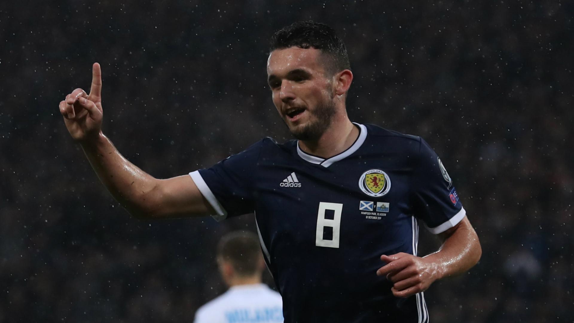 Scotland 6-0 San Marino: McGinn treble eases pressure on Clarke