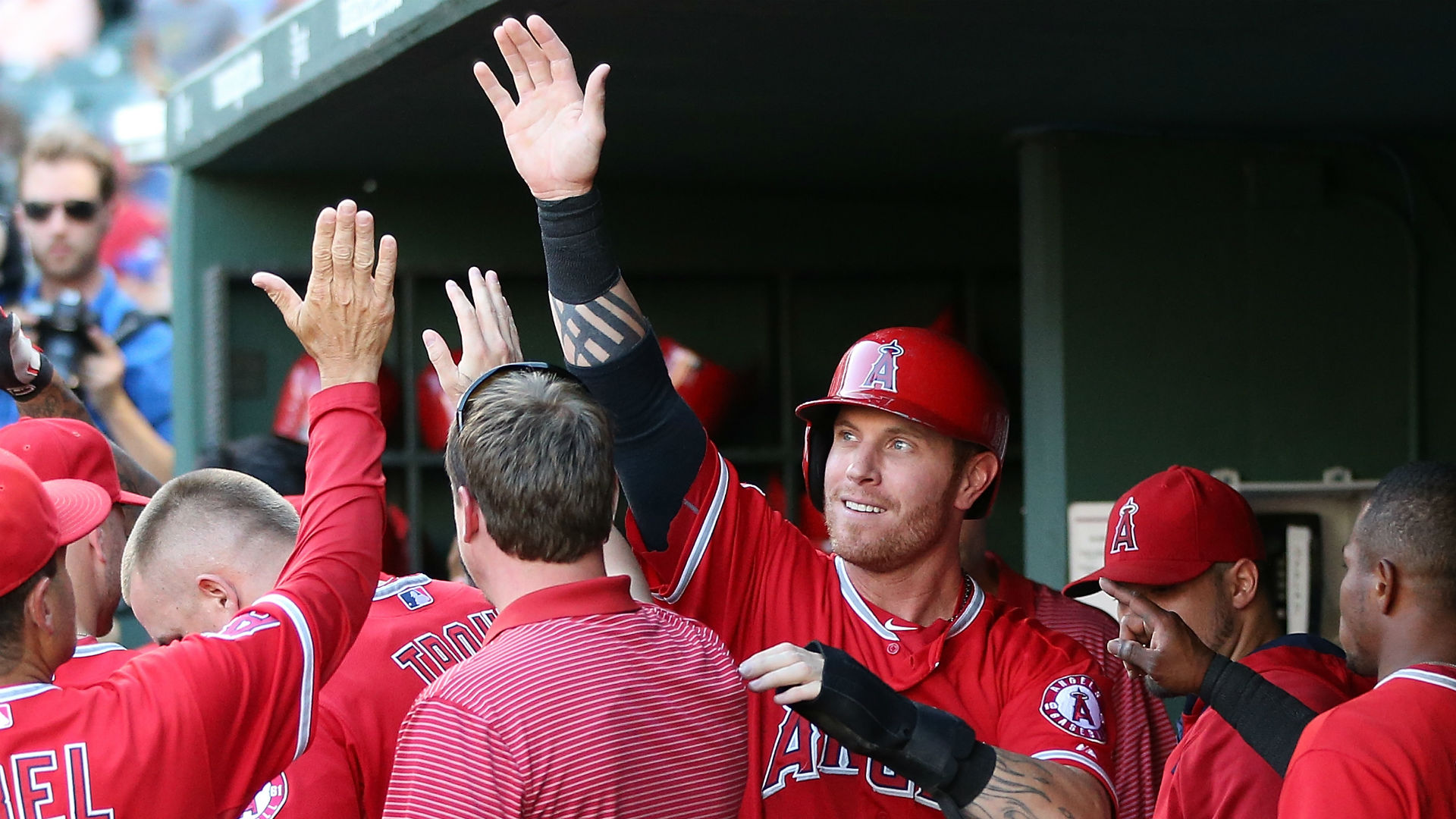 Angels teammates say Josh Hamilton is 'ready to go'