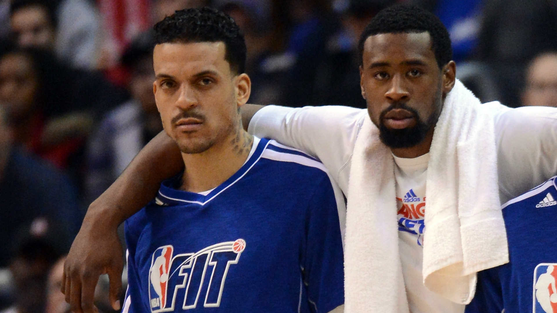 Matt Barnes says he will 'foul the beep' out of DeAndre Jordan