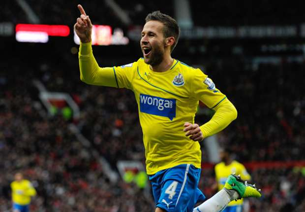 Too early for Newcastle top-four talk, insists Cabaye