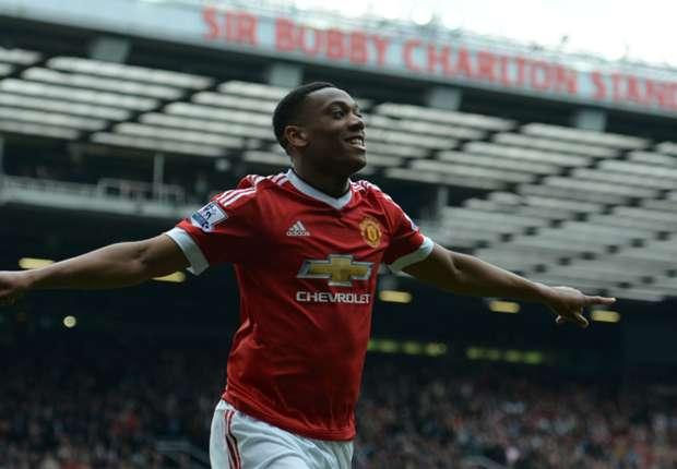 Manchester United 1-0 Everton: Martial fires Van Gaal's men to crucial win
