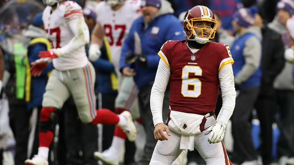 Redskins will start QB Josh Johnson in Week 15 after Mark Sanchez gets  benched vs. Giants 38ff79d9c