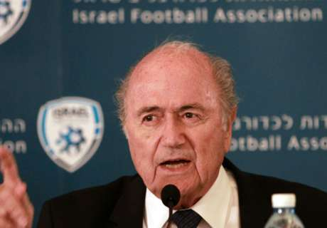Blatter: Israel FA won't be banned