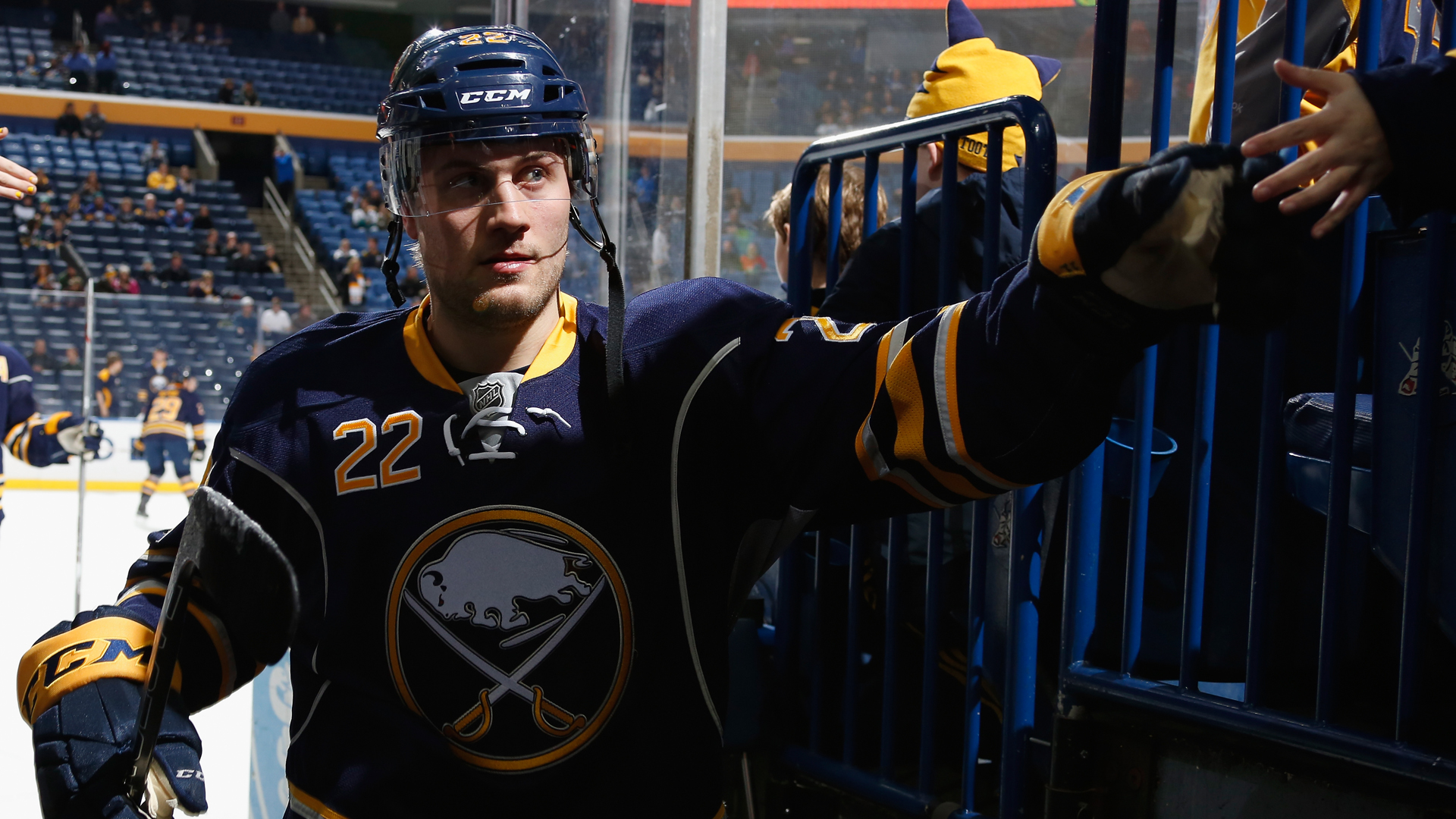 NHL suspends Sabres forward Johan Larsson two games for cross-checking