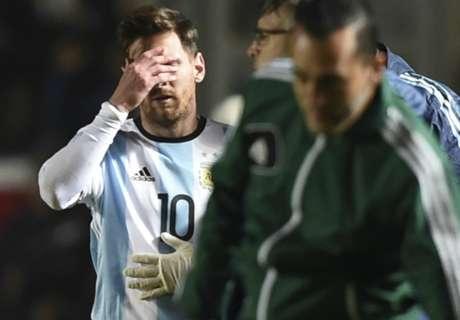 Panico Argentina: Messi finisce ko