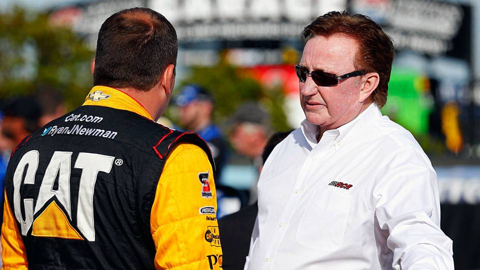Ryan Newman and Richard Childress