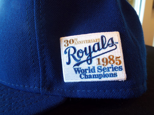 The Royals' 30th anniversary patch