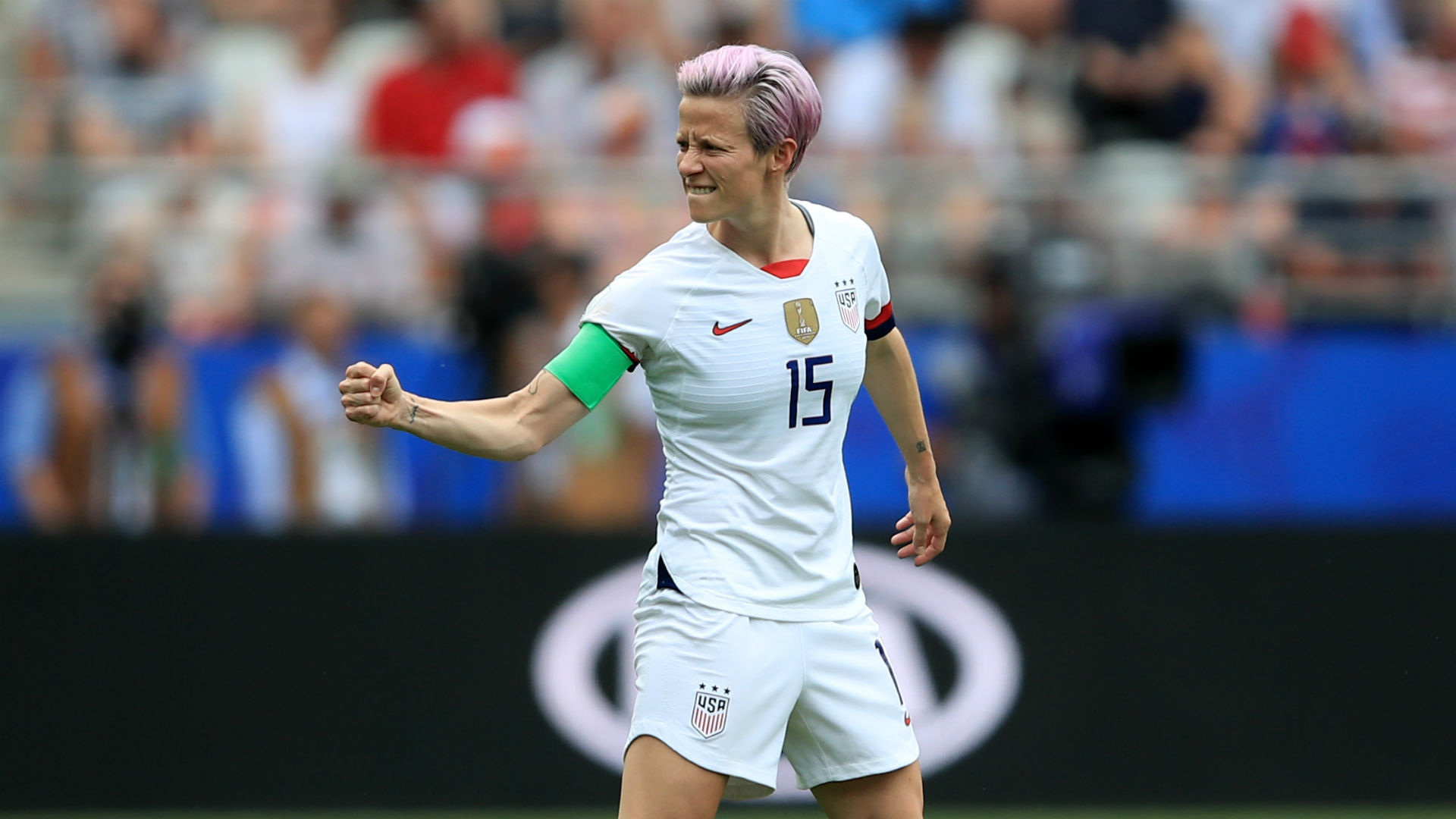 Women's World Cup 2019: USA's Megan Rapinoe predicts match against France will be 'crazy'
