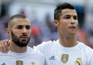 Real Madrid duo Karim Benzema and Cristiano Ronaldo