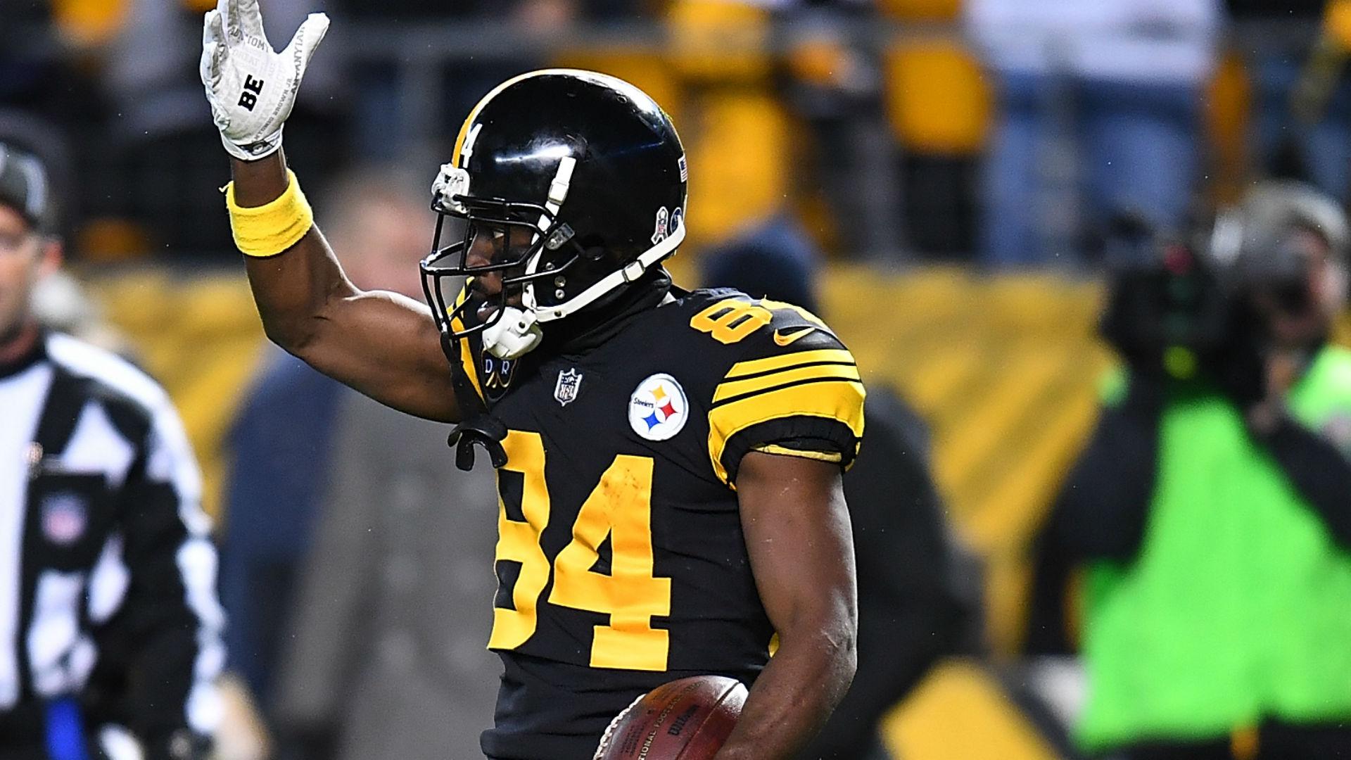 Antonio Brown's helmet catch in the end zone seals Steelers win