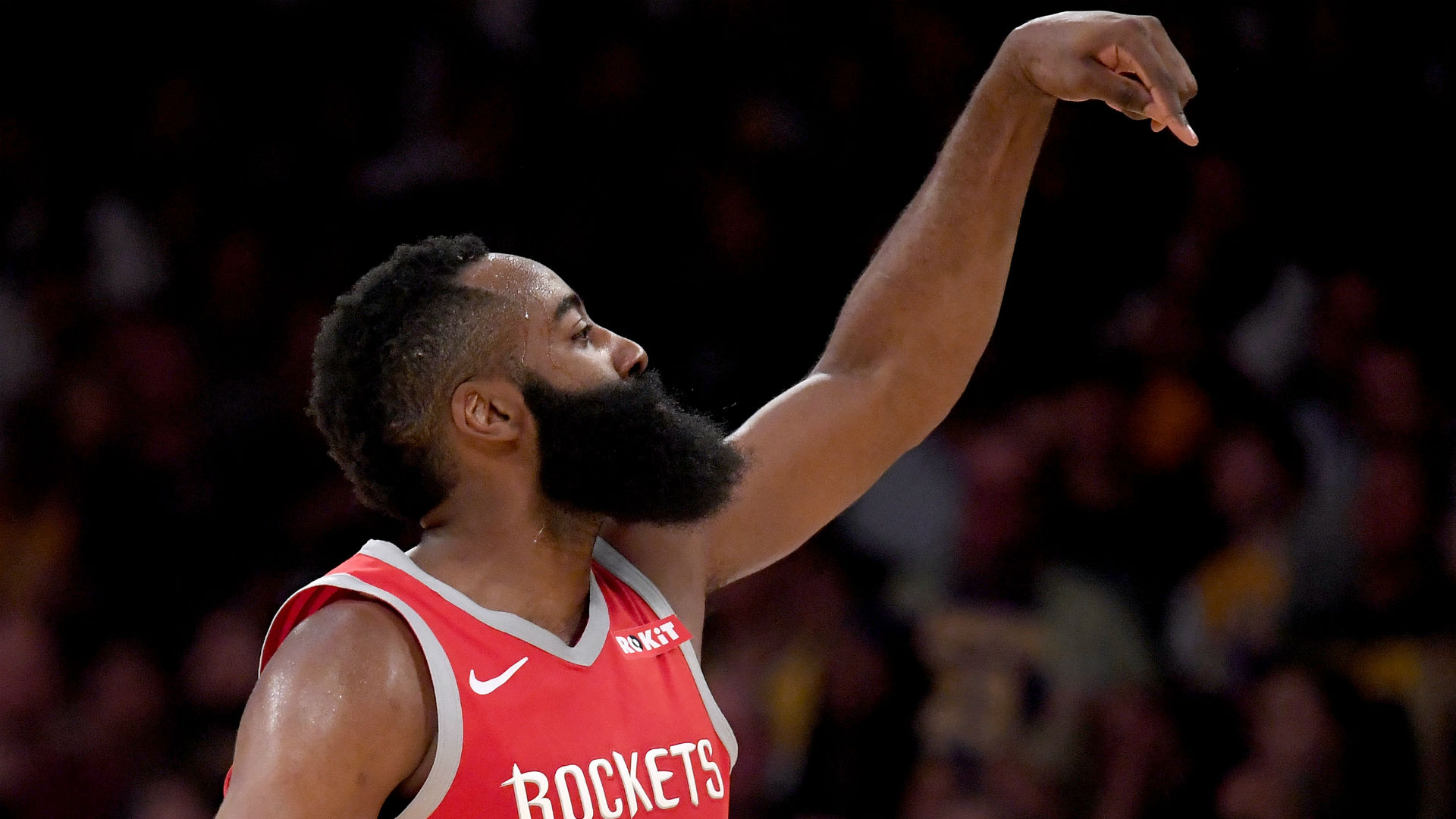 Harden drops 57 to pass Kobe with 17th straight 30-point game