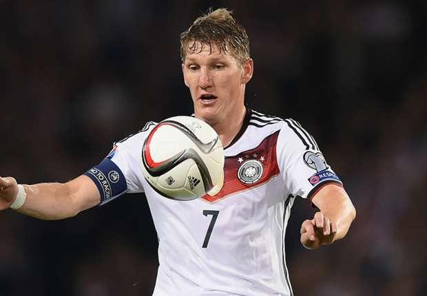 Schweinsteiger Out Of Germany Games Goal Com