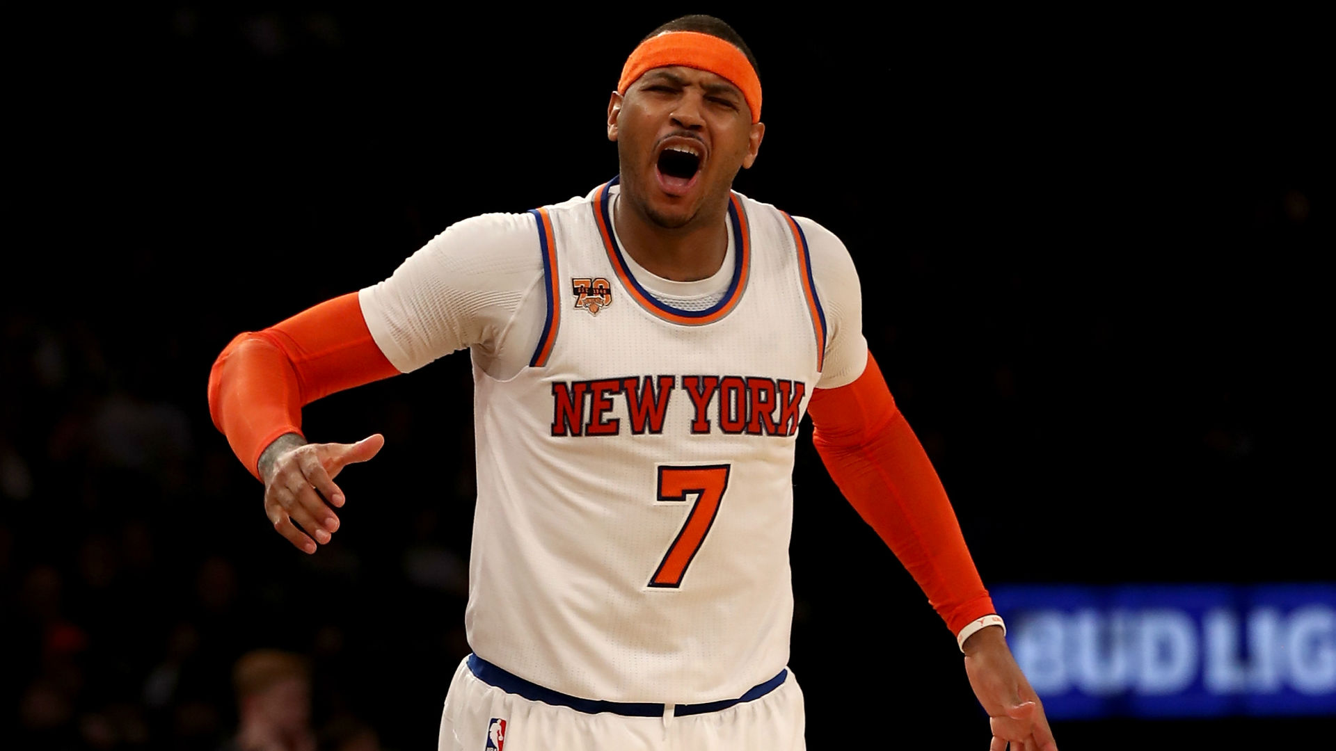 nba trade rumors carmelo anthony says he wont leave