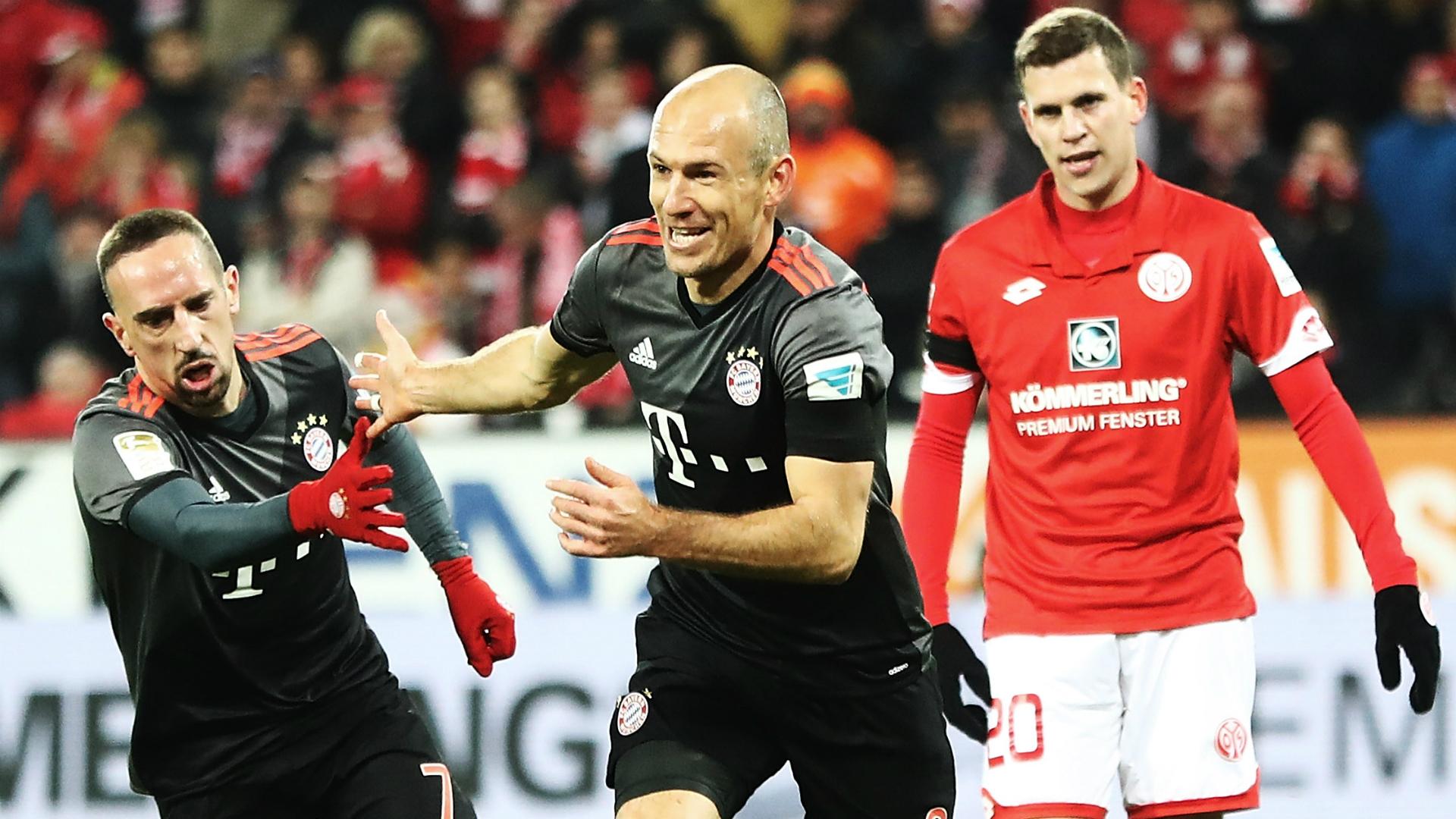 Bayern Munich beat Mainz in German Bundesliga
