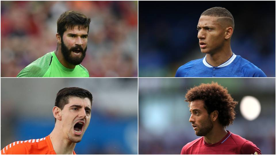 Alisson Richarlison Courtois Anderson