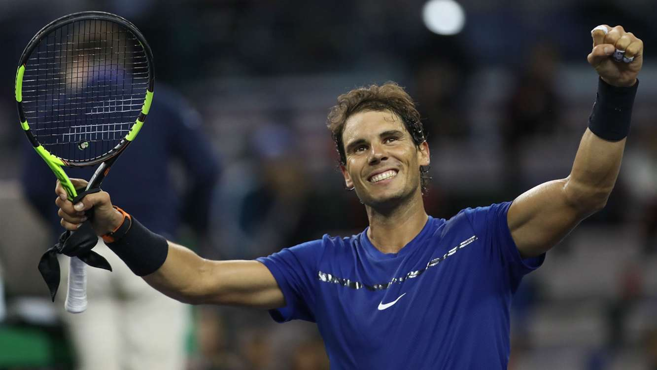 Nadal and Federer cruise through, Del Potro masters Zverev in Shanghai