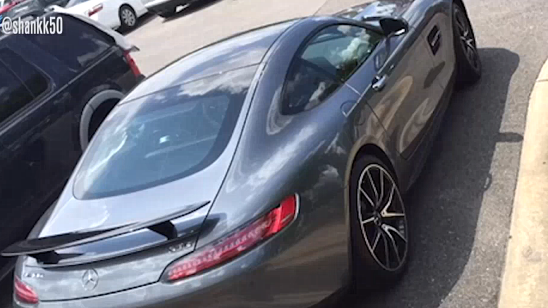 Nick Saban Drives New 130K Mercedes And His Alabama Players Are Impressed