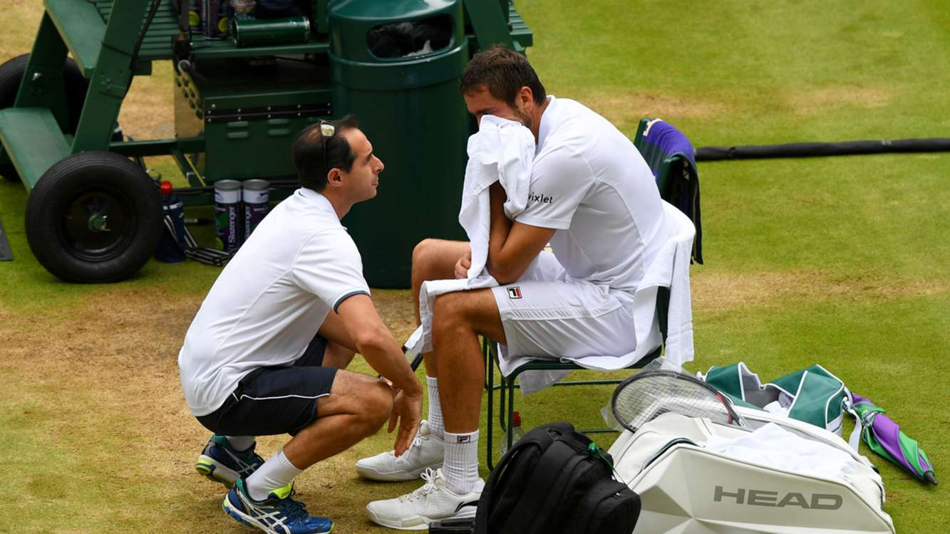 WATCH: Why Marin Cilic cried during Wimbledon final loss to Roger Federer
