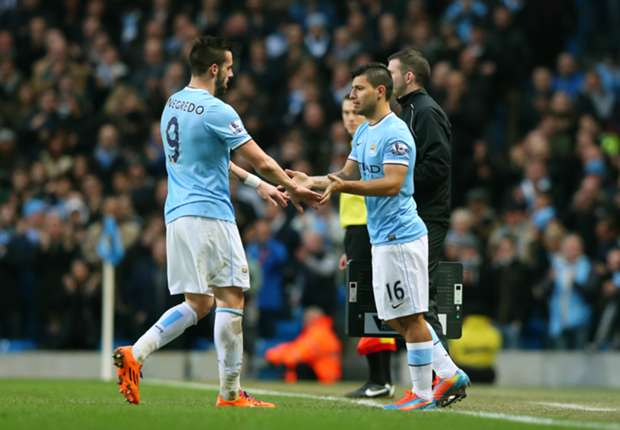 Pellegrini hoping Aguero and Negredo resume lethal partnership
