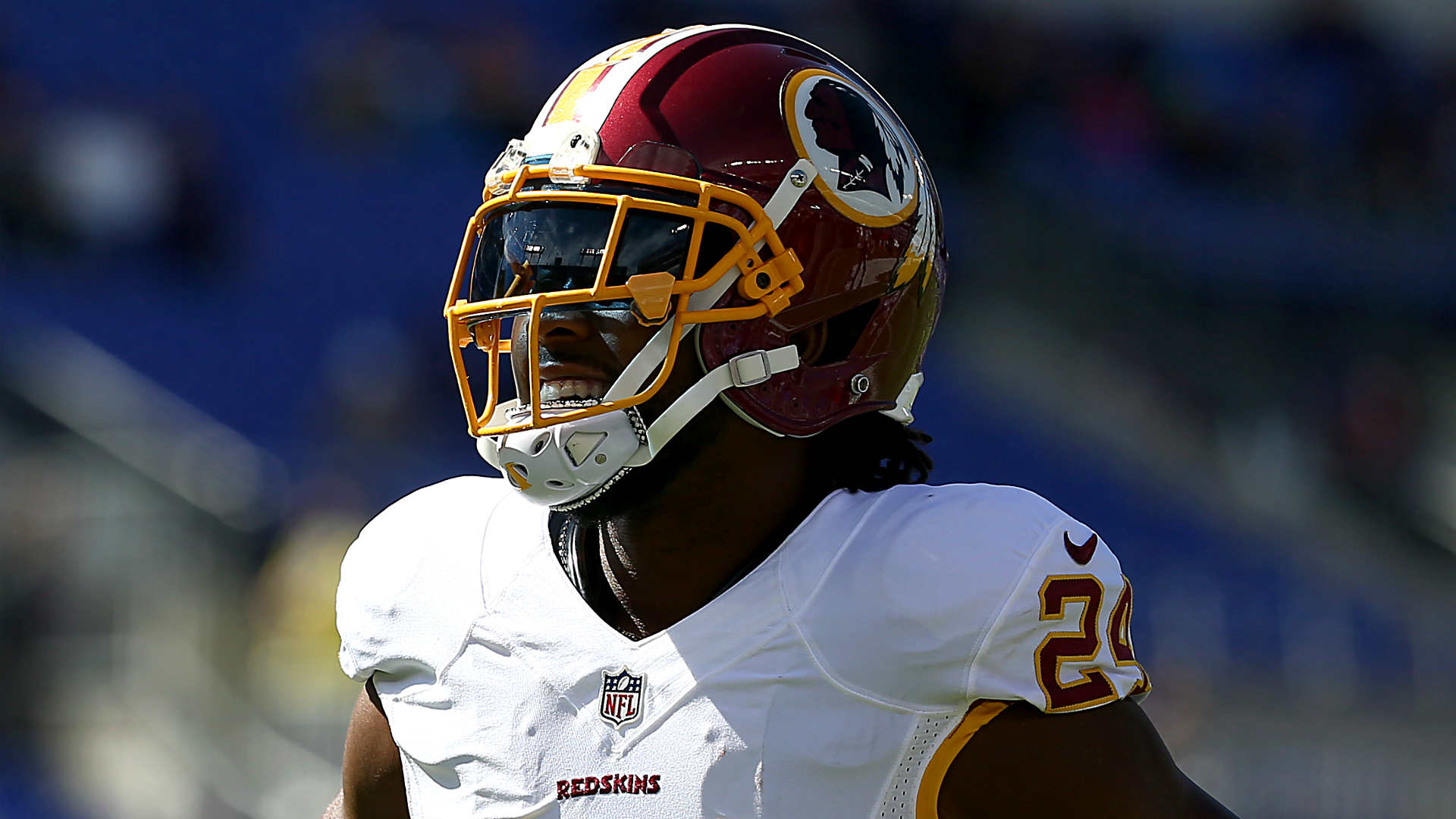 Redskins Josh Norman back in the weight room after breaking rib