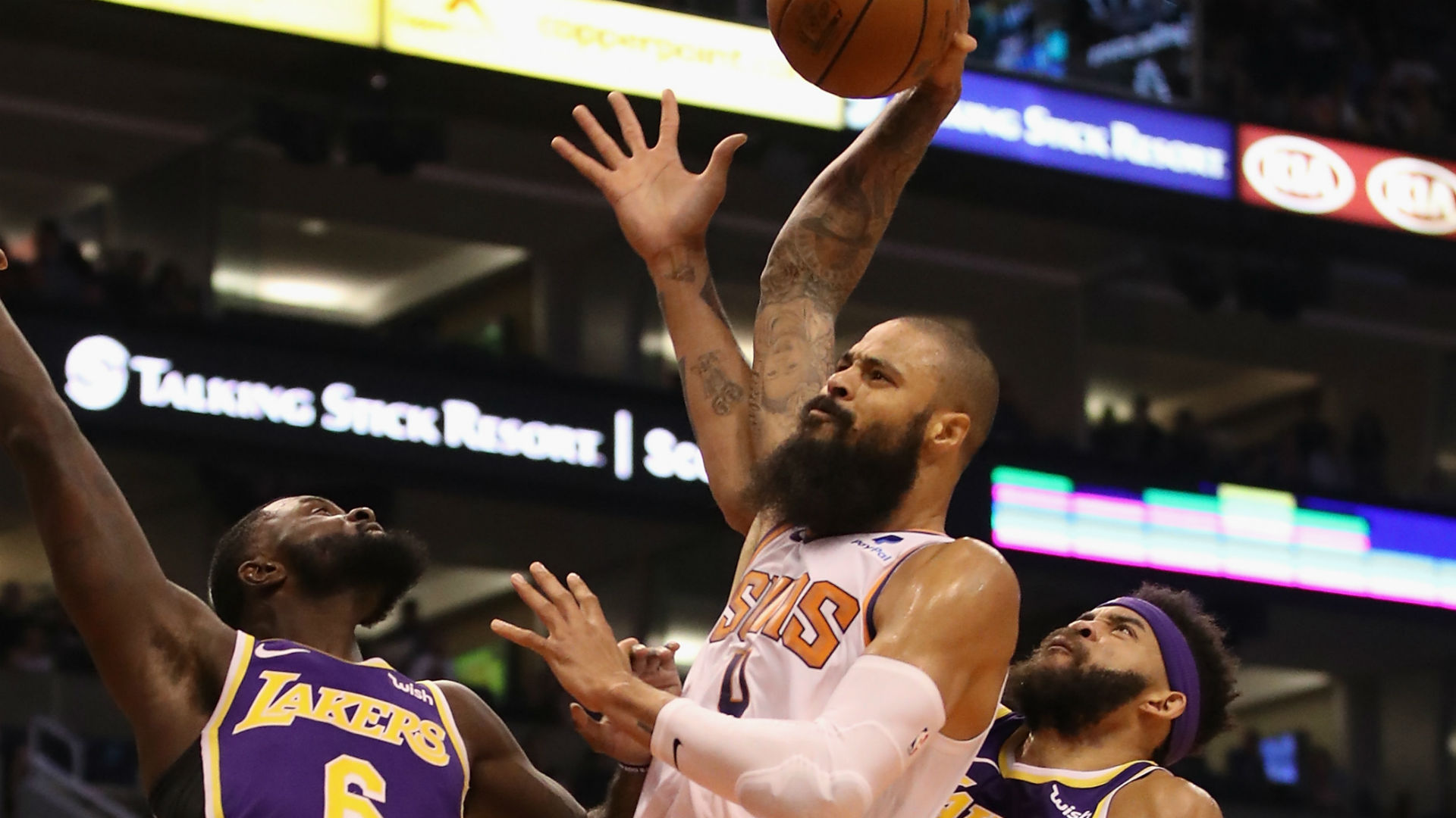 Tyson Chandler bought out by Phoenix Suns, eyes Los Angeles Lakers